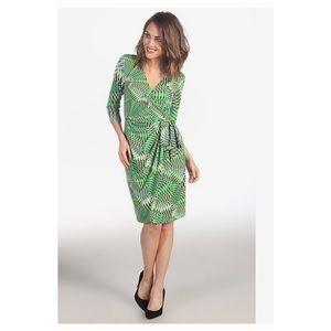 Maggy London Dresses - Maggy London Printed MJ Wrap Dress